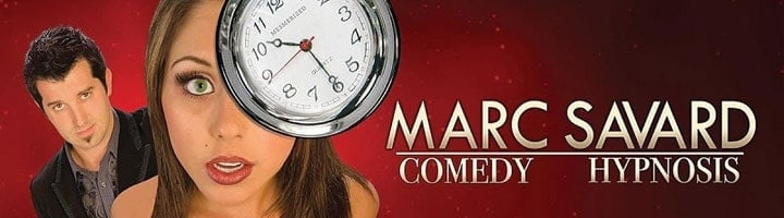 Marc Savard Comedy Hypnosis Featured Deal