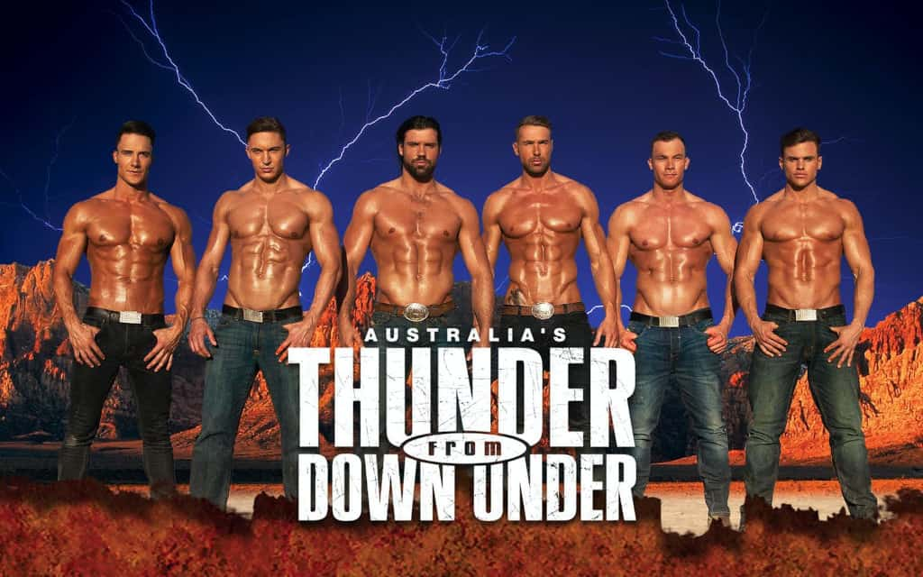 Thunder From Down Under Las Vegas