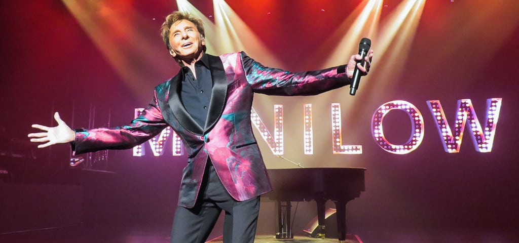 Barry Manilow Las Vegas Marquee