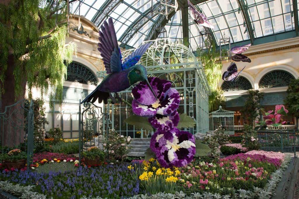 Bellagio Resort and Casino Conservatory & Botanical Gardens