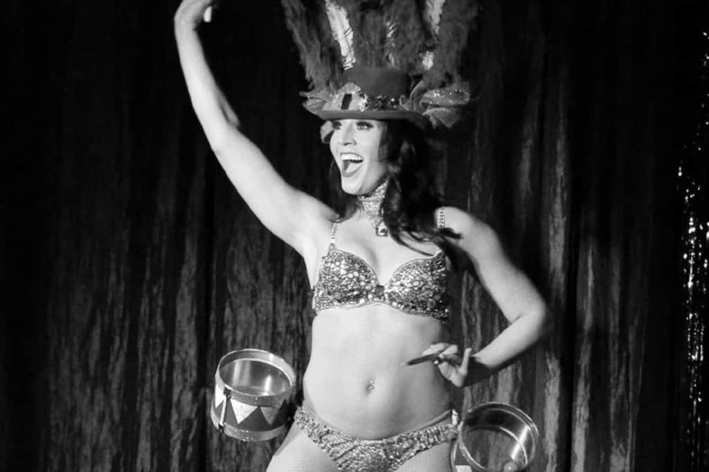 BurlesQ Dancer on Stage