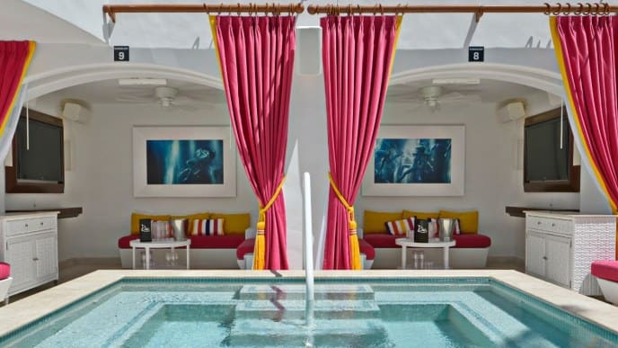 Cromwell Las Vegas Pool Bungalow