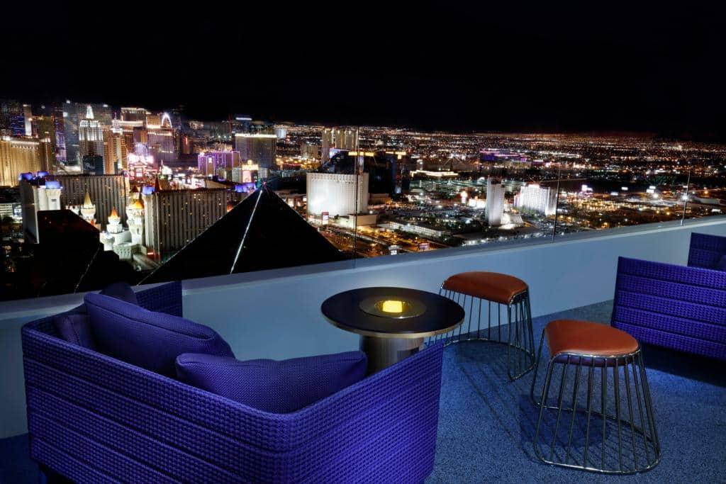 Delano Las Vegas Skyfall Lounge Patio