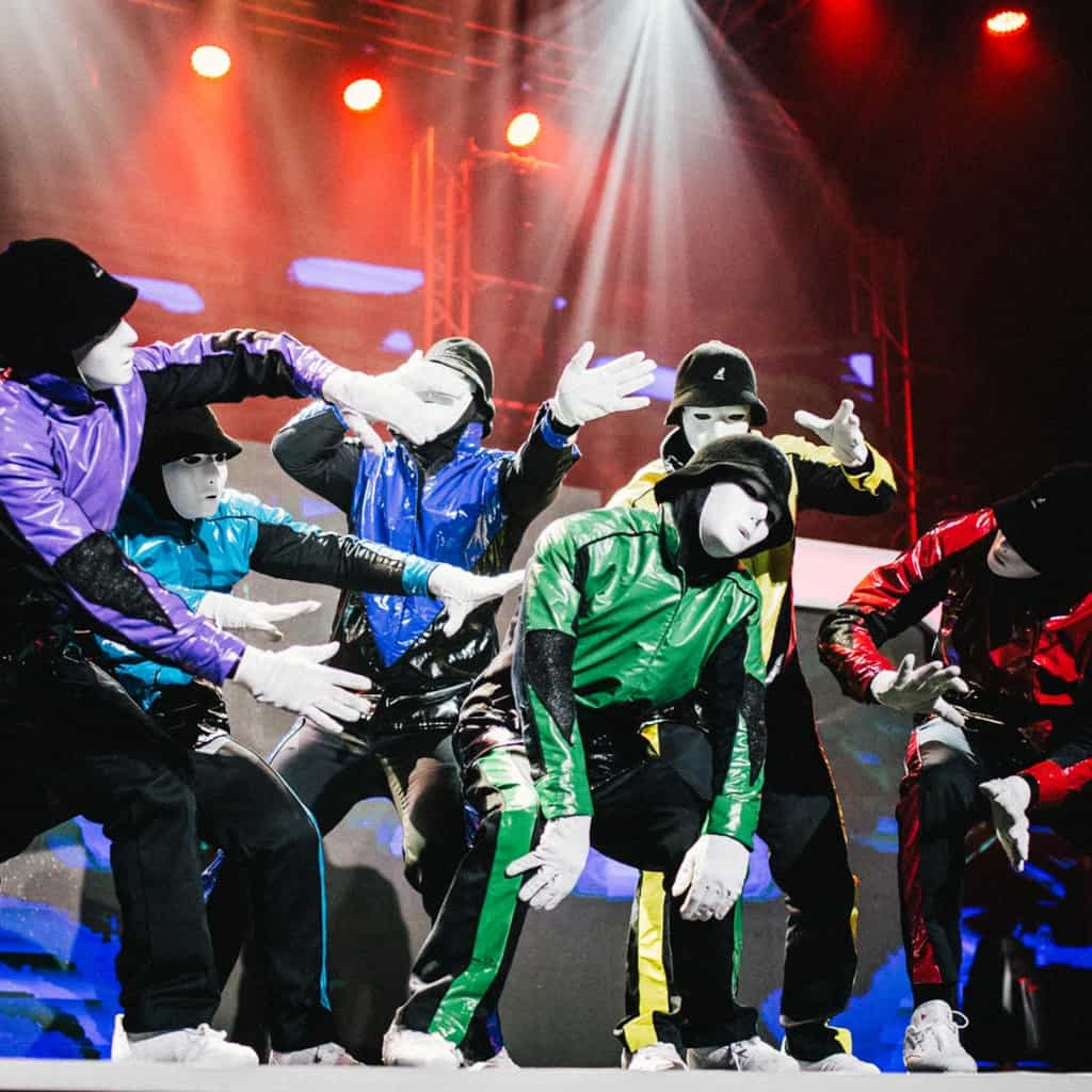 Jabbawockeez Dancers