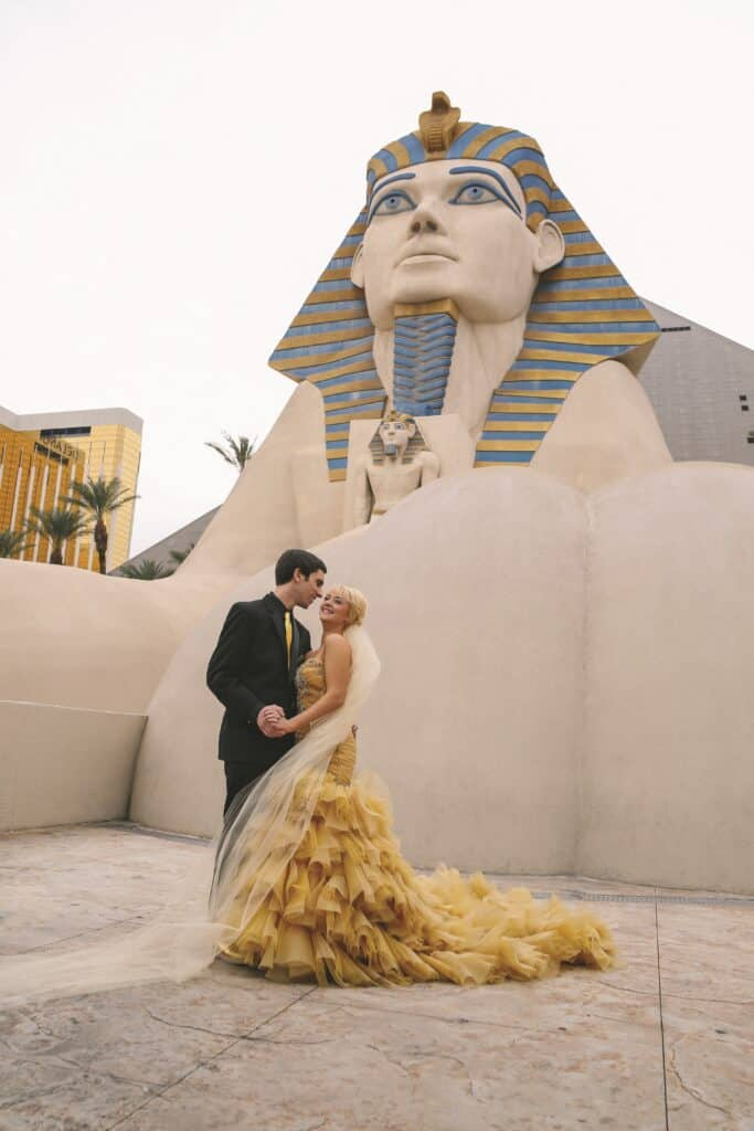 Luxor Resort and Casino Sphinx Location