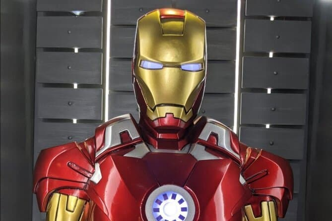 Marvel Avengers STATION Interactive Exhibit