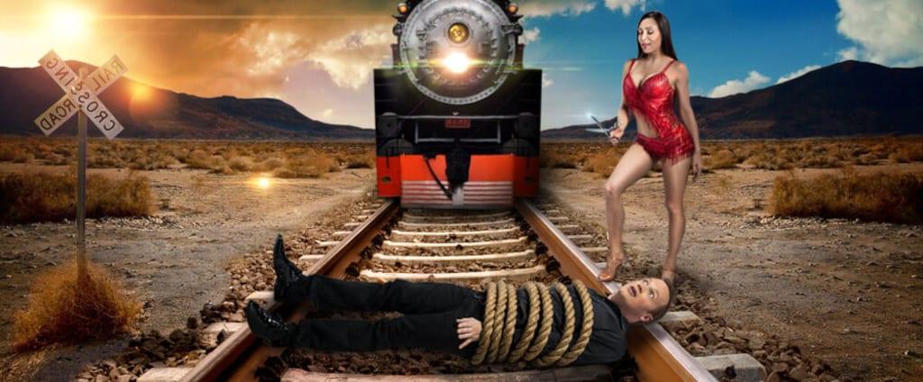 Nathan Burton Comedy Magic Train