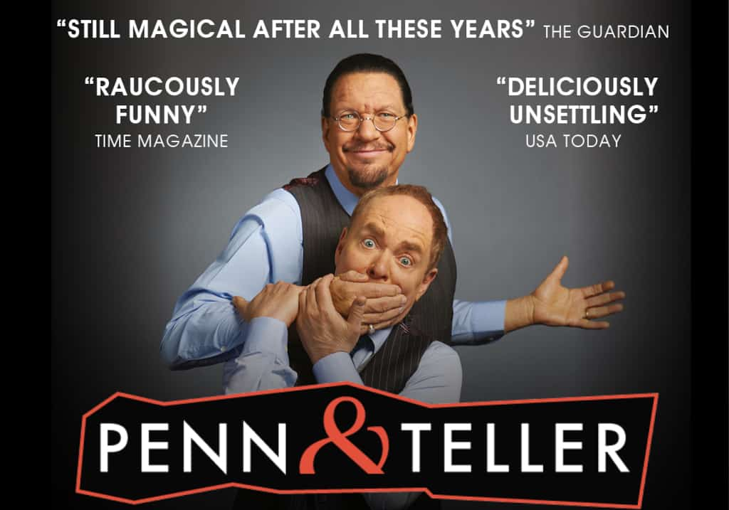 Penn and Teller Marquee