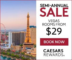 Caesars Hotel Sale