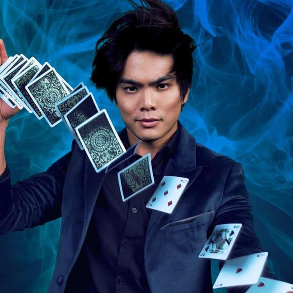 Shin Lim Las Vegas Fanning Cards