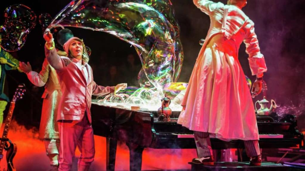 The Beatles LOVE by Cirque du Soleil Bubbles