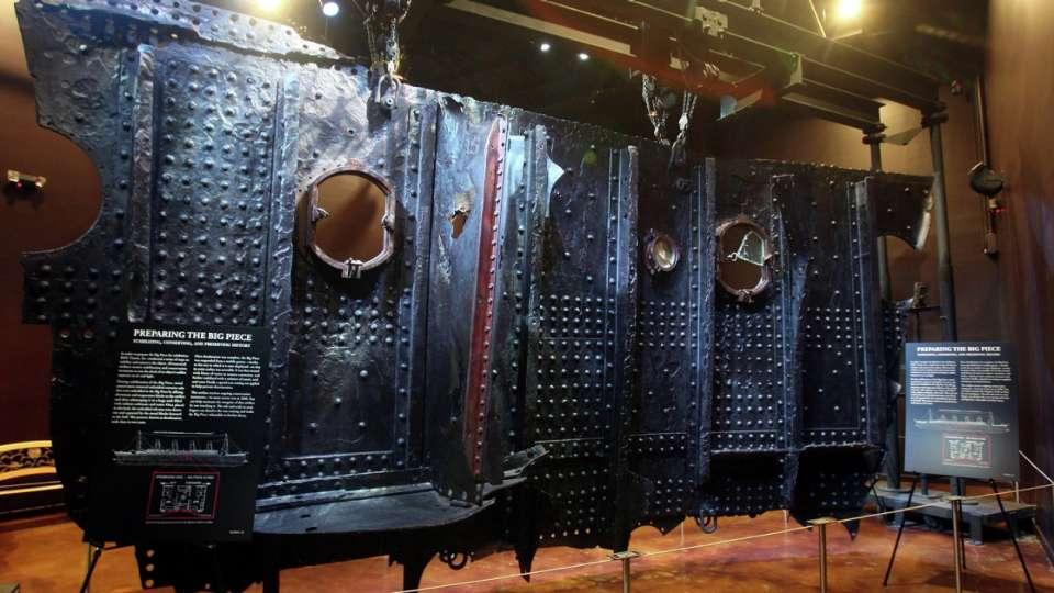 Titanic Artifact Exhibition Piece