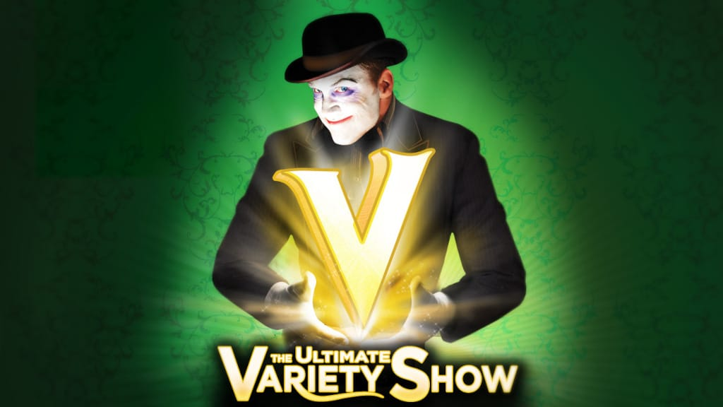 V The Ultimate Variety Show Poster