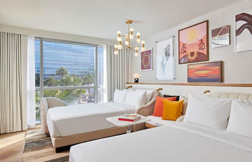 Virgin Hotels Las Vegas Chamber Suites