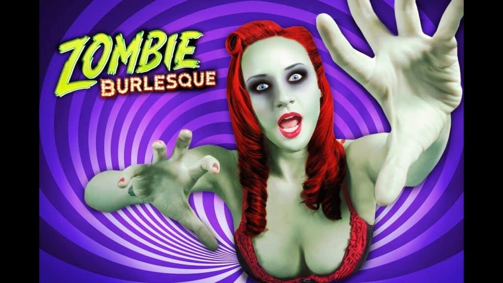 Zombie Burlesque Zombie Approaching